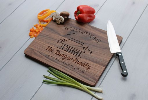 Custom Made Personalized Cutting Board, Engraved Cutting Board, Custom Wedding Gift – Cb-Wal-Rangerfamily