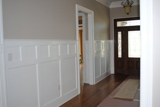 Custom Made Wainscotting