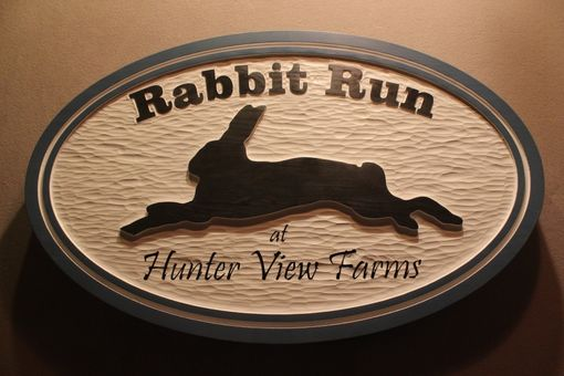 Custom Made Custom Carved Farm Signs, Custom Farm Signs, Home Signs, House Signs By Lazy River Studio