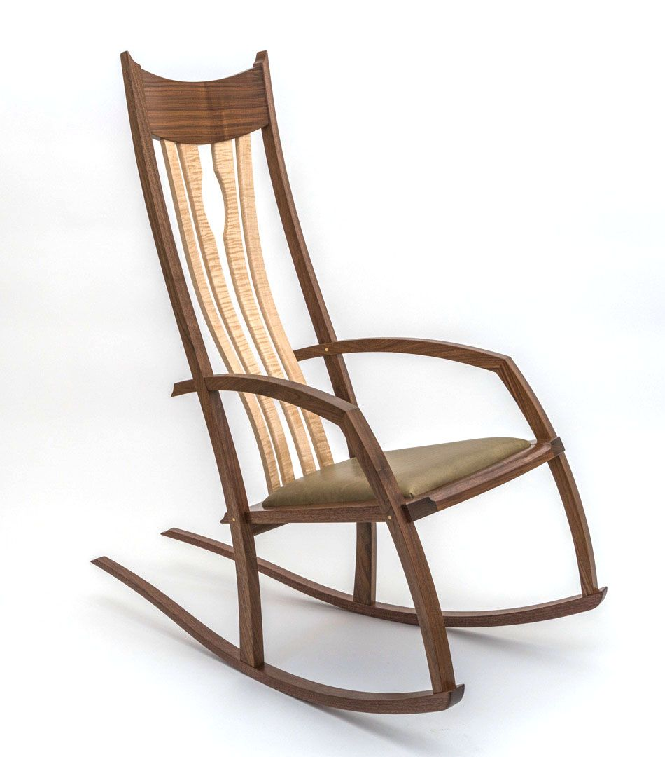 Enjoyable Buy Hand Crafted Scandinavian Style Rocking Chair With Long Uwap Interior Chair Design Uwaporg