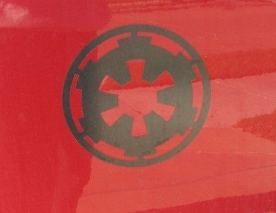 Custom Made Imperial Decal 6 Inches Round