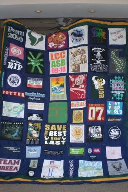 Custom Made Graduation Quilt