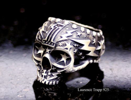 Hand Crafted Custom Made Silver Skull Rings With Your Own ...