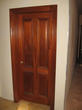 Custom Made Custom Wooden Door