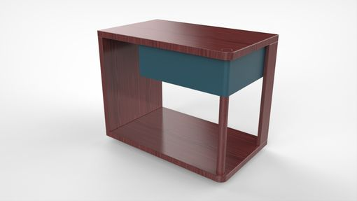 Custom Made Pivot Bedside Table