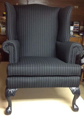 Custom Made Sample - Wing Back Chair
