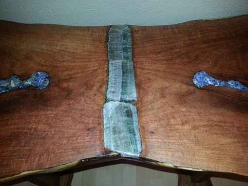 Custom Made Mesquite Entrance Table