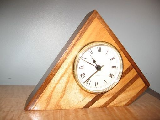 Custom Made Ash & Walnut Desk Clock