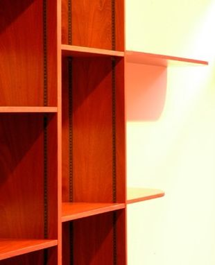 Custom Made Large Book Case (Adjustable)