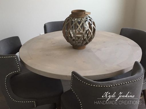 Custom Made Round Breakfast Table