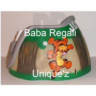 "Custom Made ""Winnie The Pooh"" Booster Seat (Regalo Booster Chair)"