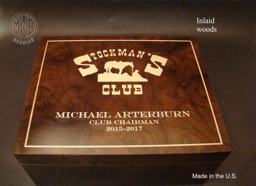 Custom Made Custom Inlaid Humidor Handcrafted In The U.S.  Free Shipping.