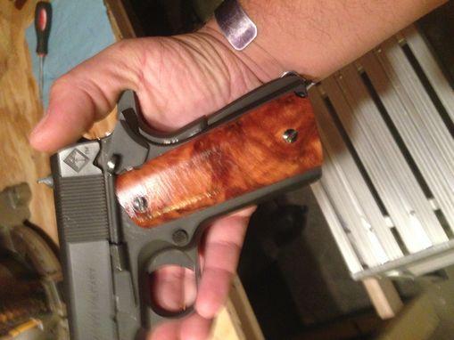 Buy Custom Thuya Burl 1911 Pistol Grips, made to order from
