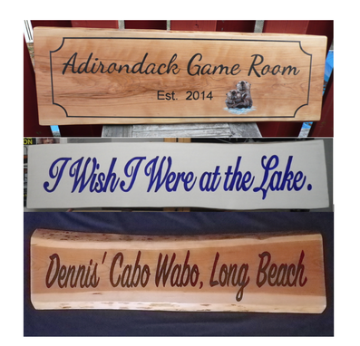 Custom Made Custom Name Sign, Wooden Plaques, Wedding Signs, Family Name Sign, Business Logo On Wood, Signs