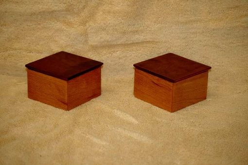 Custom Made Cherry Ring Boxes