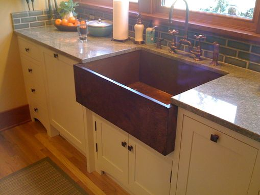 Custom Made Burns Copper Sink