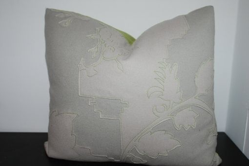 Custom Made 21x18 Layers Garden Double By Maharam Pillow Cover
