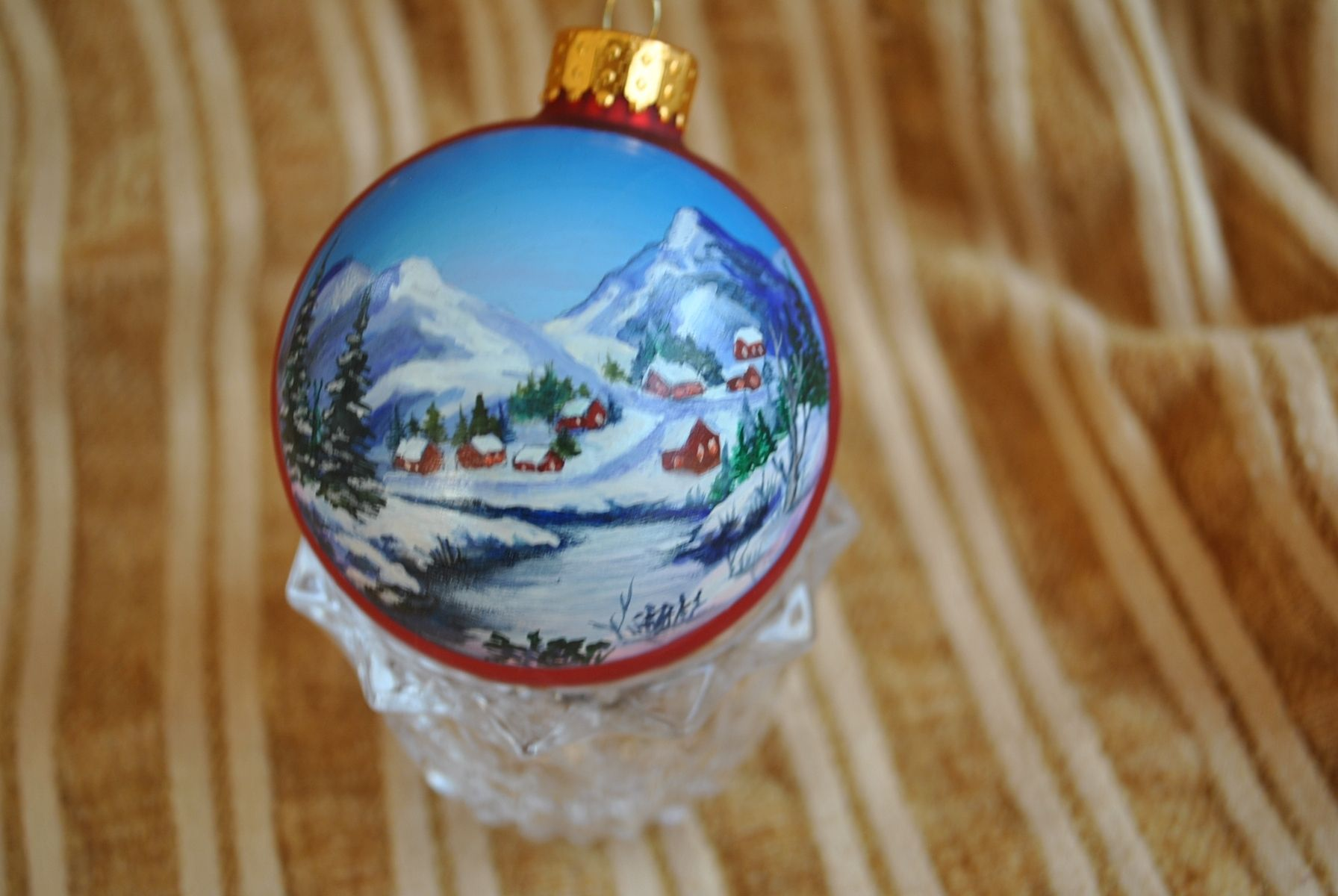 Custom Hand Painted Ornaments by Annetastic Designs | CustomMade.com