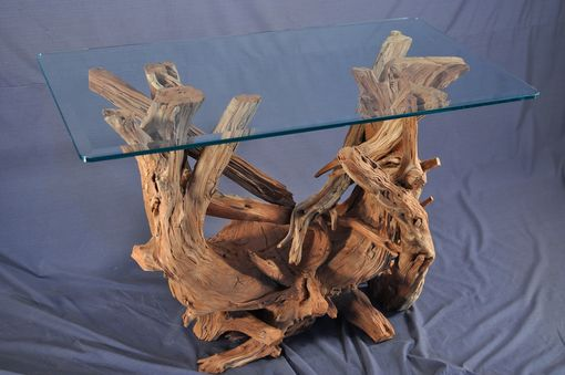 Custom Made Driftwood Sofa Table