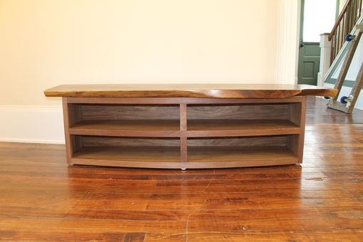 Custom Made Entry Way Bench With Matching Coat Rack.
