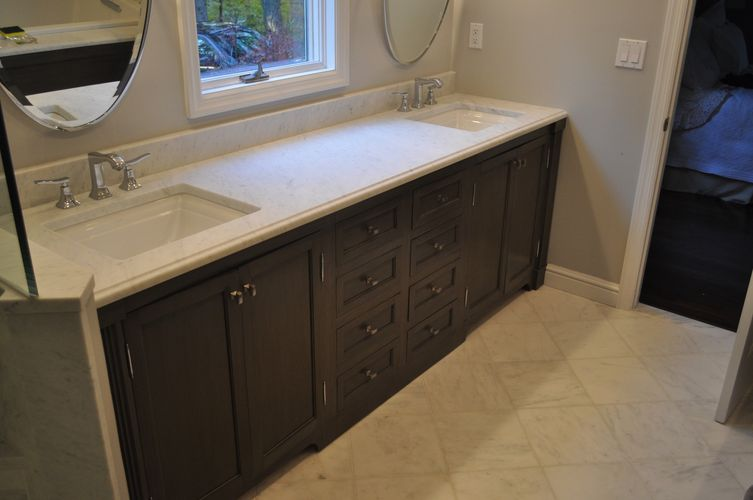 Hand Made Bathroom Vanity By K Smith Custom Woodworking