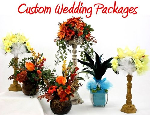 Custom Made Wedding Flower Packages, Custom Wedding Flowers, Wedding Flower Bouquet