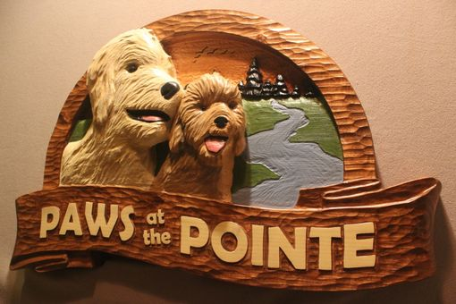 Custom Made Dog Signs | Dog Memorials | Dog Carving | Pet Signs | Pet Memorials | Pet Carving