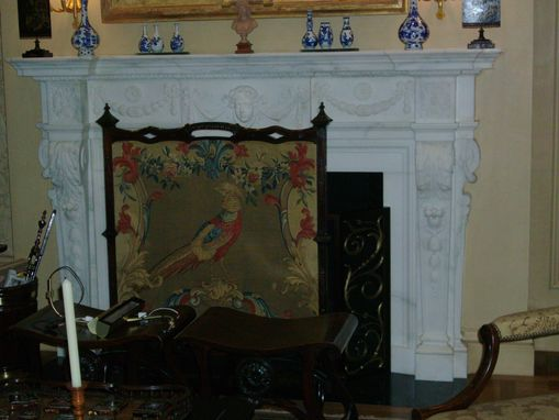 Custom Made Antique Fireplace Restoration