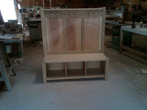 Custom Made Entry Bench
