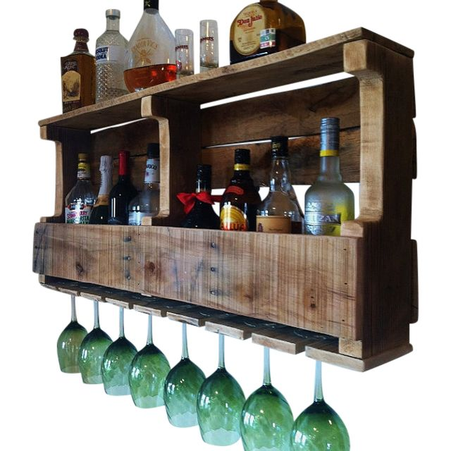 A Handmade Extra Wide Grand Traverse Rustic Wine Rack Liquor Made To Order From Great Lakes Reclaimed Custommade