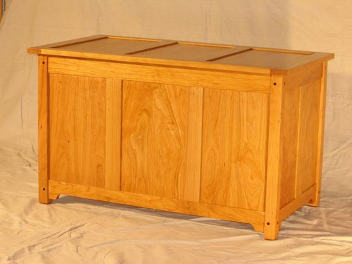Custom Made Craftsman Blanket Chest