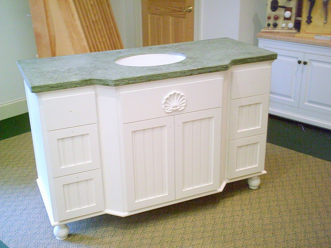 Hand Made Bathroom Vanity by Custom Furniture Design & Restoration ...