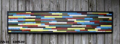Custom Made Wood Wall Art