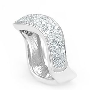 Custom Made Pave Diamond Ring