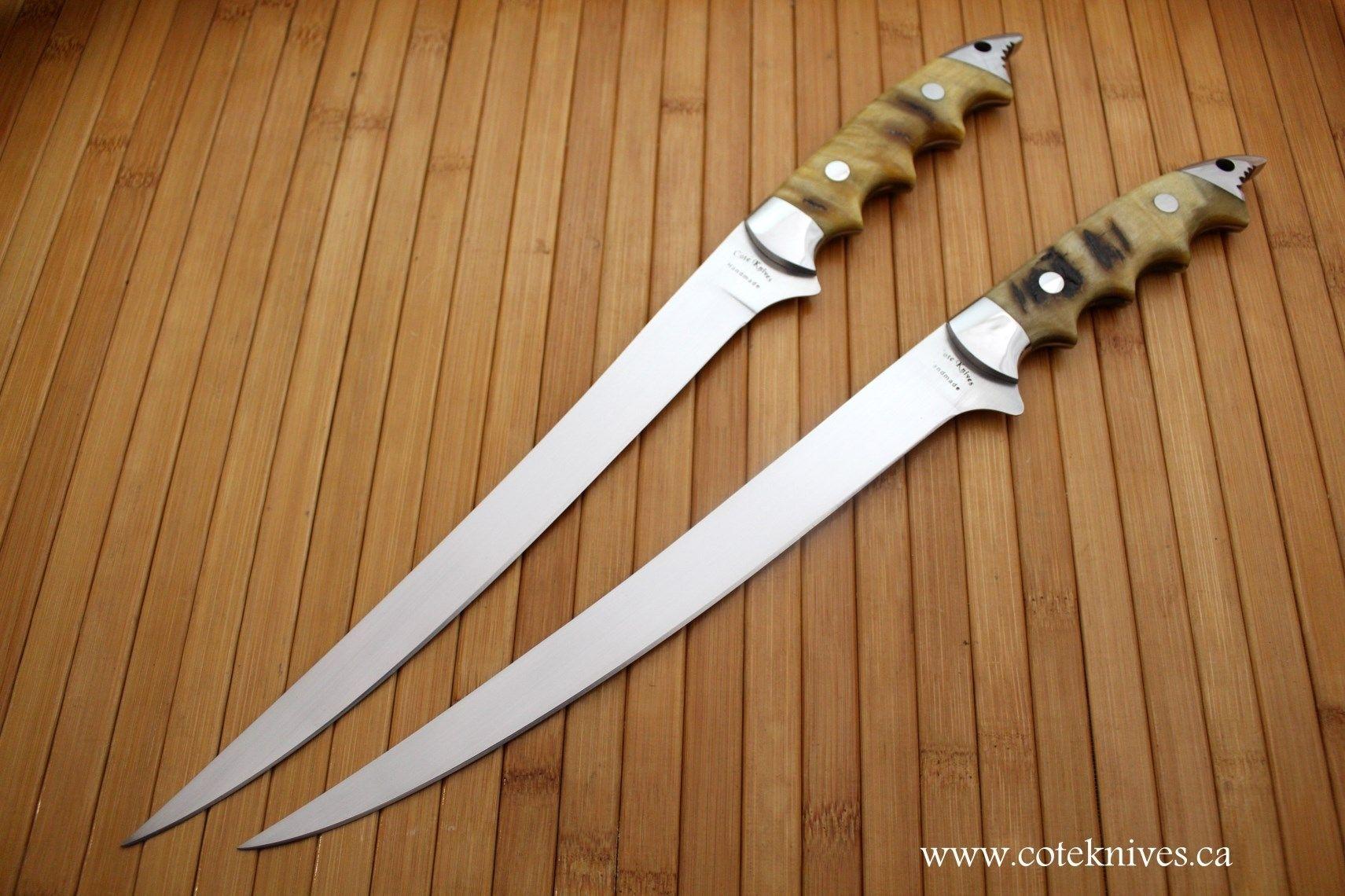 Handmade Fillet Knives by Cote Custom Knives | CustomMade.com