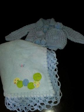 Custom Made The Little Caterpillar Baby Set