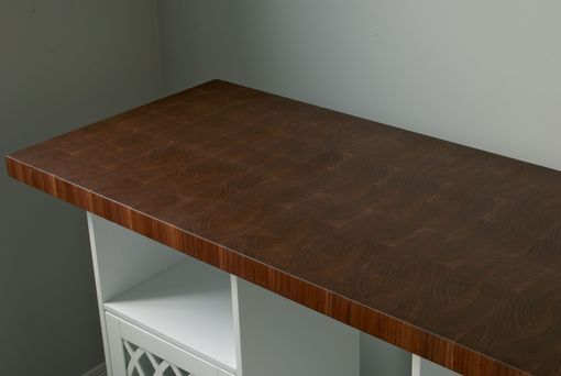 Custom Made Walnut End Grain Countertop / Butcher Block