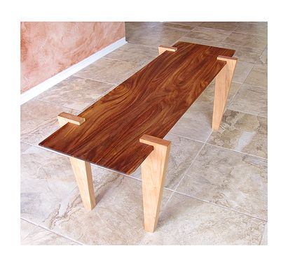 Custom Made Rosewood Coffee Table, Sofa Table