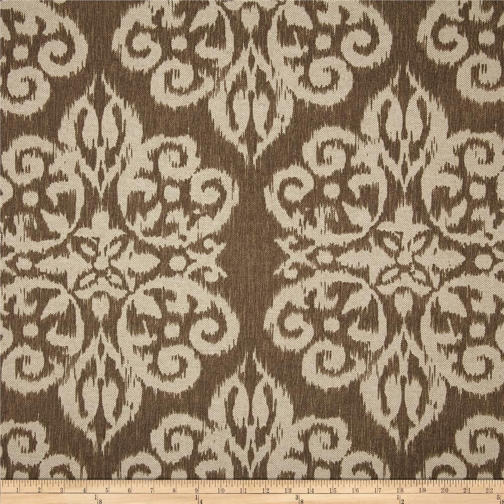Designer curtain panels - Hand Crafted Custom Designer Curtain Panels Lacefield Spicer Walnut Brown 84 L X 50 W By Elise Quinn Interiors Custommade Com