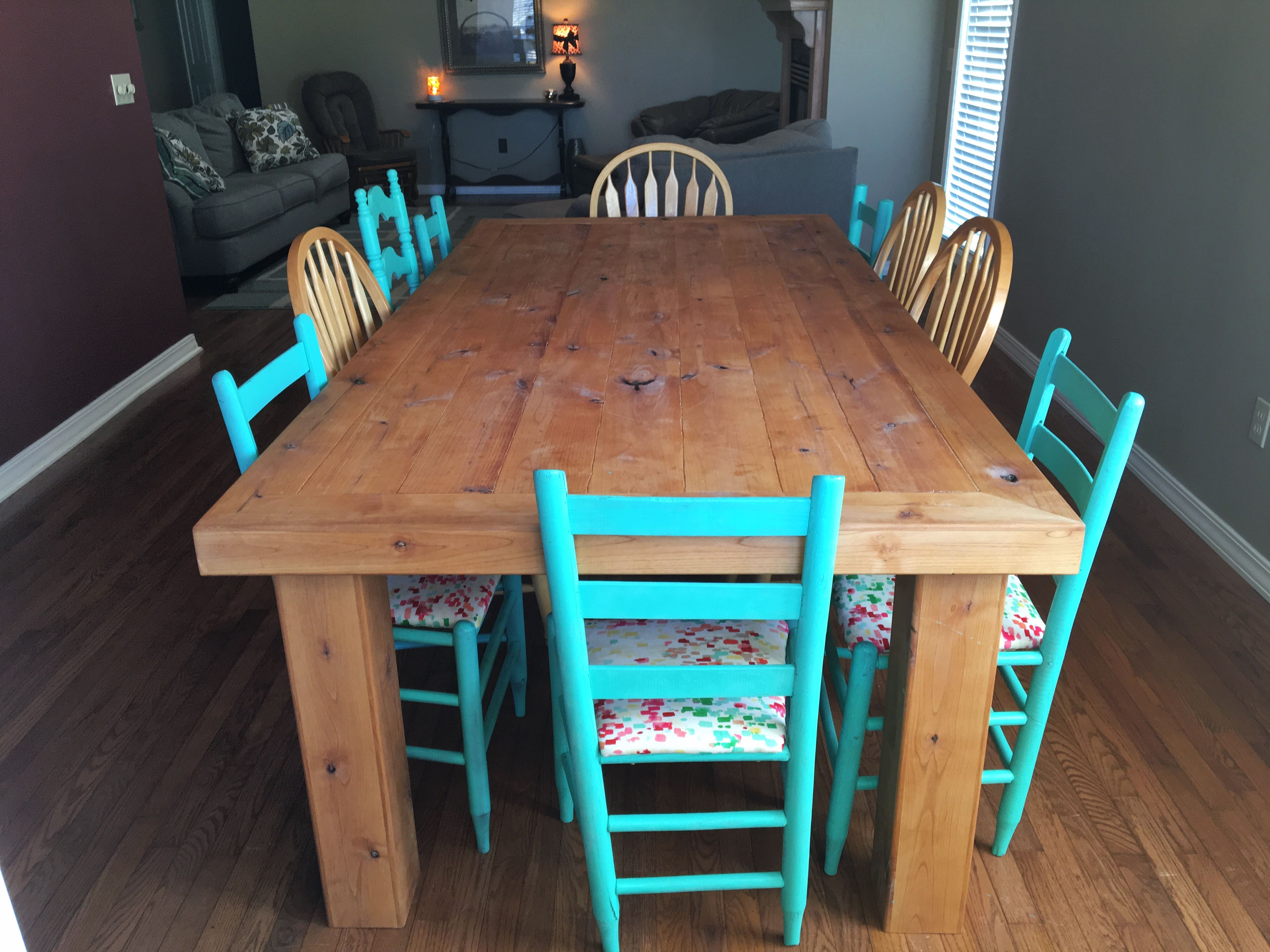 Hand Made Dinning Table Rustic