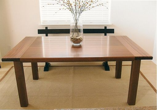 Custom Made Dining Table Made From Sapele