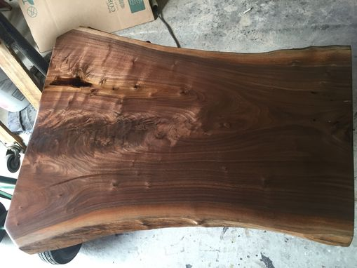 Custom Made Custom Live Edge Tops Without Base!