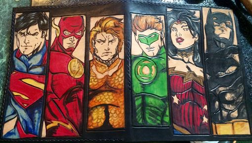 Custom Made Comic Book Heroes I Pad Covers And Sleeves