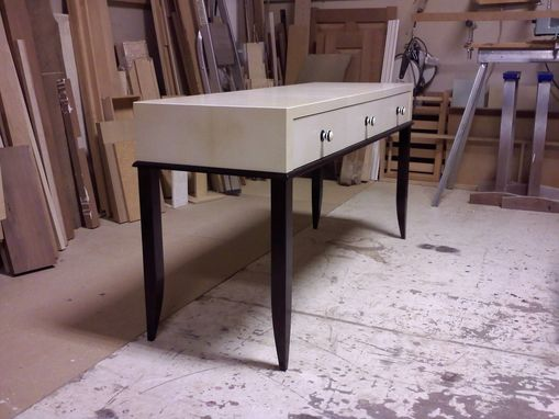 Custom Made Parchment Desk