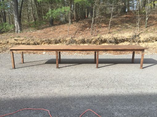 Custom Made 16' Wooden Dining Table