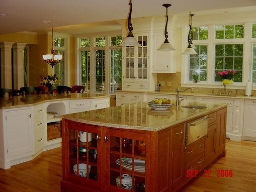 Custom Made Two Island Kitchen