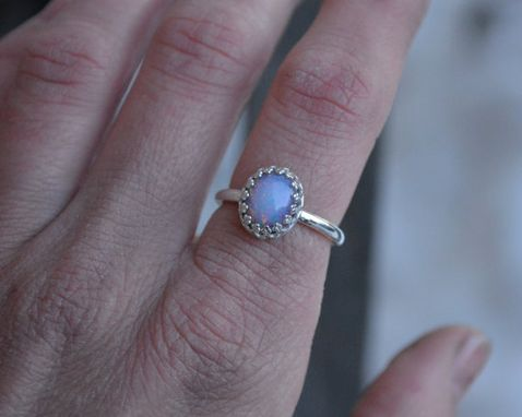 Custom Made Vintage Fire Opal Ring