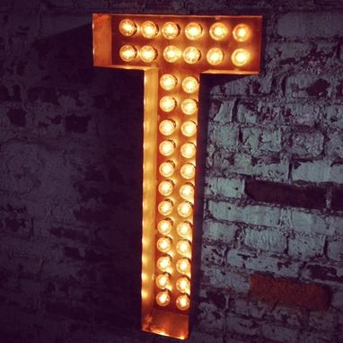 Custom Made Marquee Letter On Sale Metal Letter Broadway Style Love 24 Inches Tall