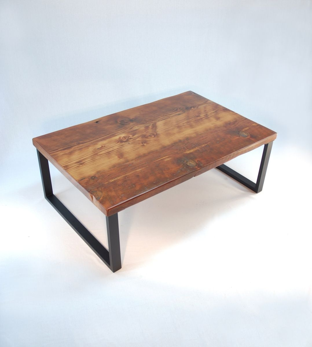 Custom Made Redmond Rustic-Modern Coffee Table - Handmade Redmond Rustic-Modern Coffee Table By Jonathan January