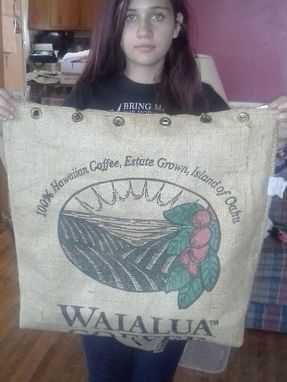 Custom Made Canvas Tote Bag